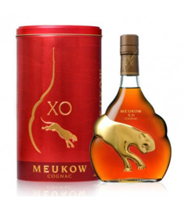 Koňak Maukow VSOP RED v plechu 40_ 0,7l