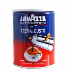 Lavazza Crema e Gusto, mletá káva v dóze, 30% Arabiky, 70% Robusty - 250g