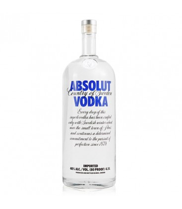 Vodka Absolut 40% 4,5l