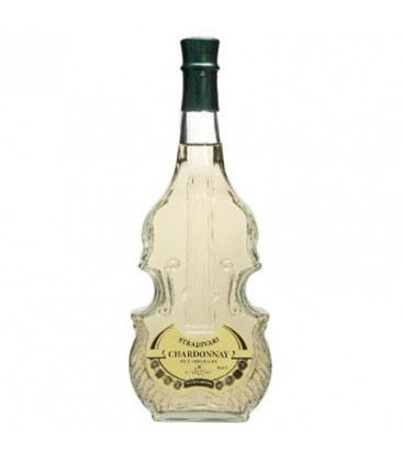 Víno Husle Chardonnay 12,5%, biele víno, suché-0,75l
