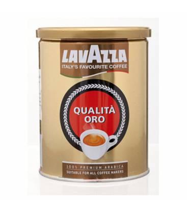 Lavazza Oro, mletá káva v dóze, 100% Arabica - 250g