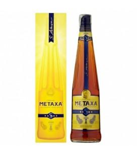 Brandy Metaxa 5* krabica 38%-0,7l