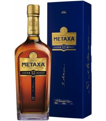 Metaxa 12*GBX 40% 0,7l