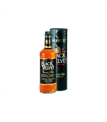 Whisky Black Velvet + tuba 40% 0,7l