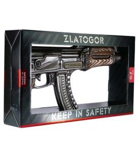 Zlatogor Kalashnikov AK - 47 Vodka Gun GB 40% 0,5 l