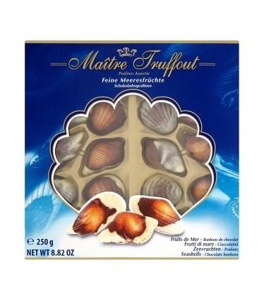 Maitre Truffout Morské plody čokoládové pralinky 250g