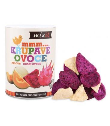 Mixit Dračie ovocie & Melón - Chrumkavé ovocie - 80g
