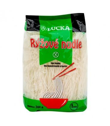 Lucka Ryžové bezvaječné cestoviny 1 mm 240g