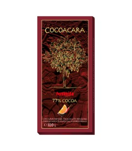 Terravita čokoláda pomaranč s chilli 77%