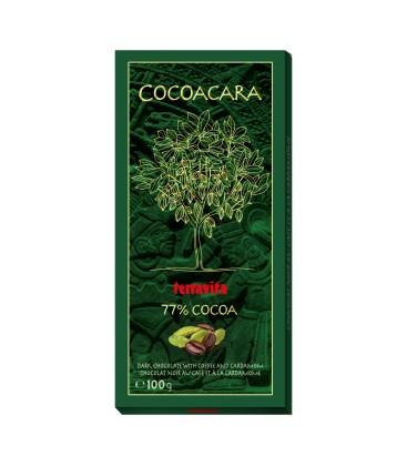 Čokoláda terravita káva s kardamonom 77%