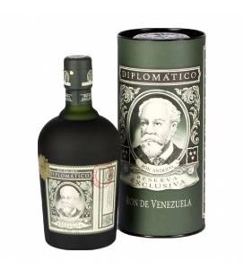 Rum Diplomatico Reserva Exclusiva 12YO + tuba 40%  0,7l