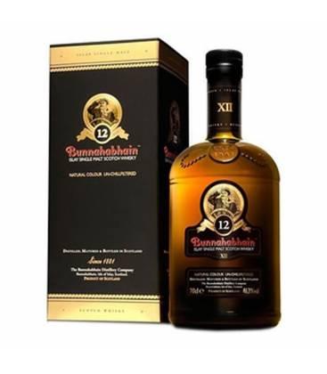 Whisky Bunnahabhain 12YO + krabica 46,3% 0,7l