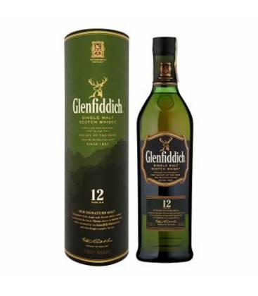 Whisky Glenfiddich 12YO + krabica 40% 0,7l