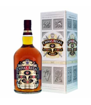 Whisky Chivas Regal 12YO + krabica 40% 0,7l