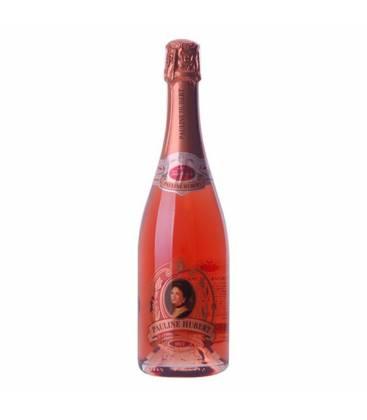 Hubert Pauline Rosé Brut, ružové šumivé víno, surové - 0,75l