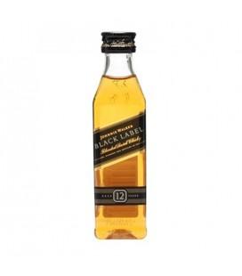 Mini Whisky Johnnie Walker Black Label 12r. 40% 0,05l