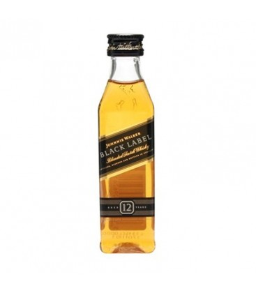 Mini Whisky Johnnie Walker Black Label 12r. 40% 0,05l