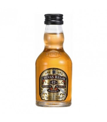 Mini Whisky Chivas Regal 12r. 0,05l