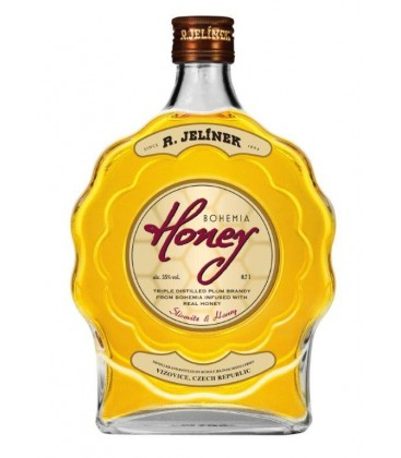 Jelínek Slivovica Bohemia Honey 35% 0,7l