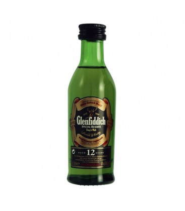 Mini Whisky Glenfiddich 12r. 40% 0,05l