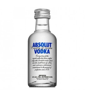 Mini Vodka Absolut 40% 0,05l