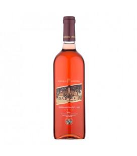 Pivnica Radošina Svätovavrinecké rosé 2014, akostné, ružové, polosuché - 0,75l