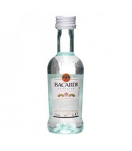 Mini Bacardi Carta Blanca 37,5% 0,05l