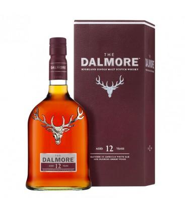 Whisky Dalmore 12YO + krabica 40% 1l