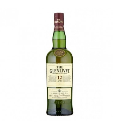 Whisky Glenlivet 12YO 40% 0,7l