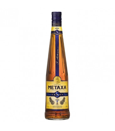 Brandy Metaxa 5* 38%-1l