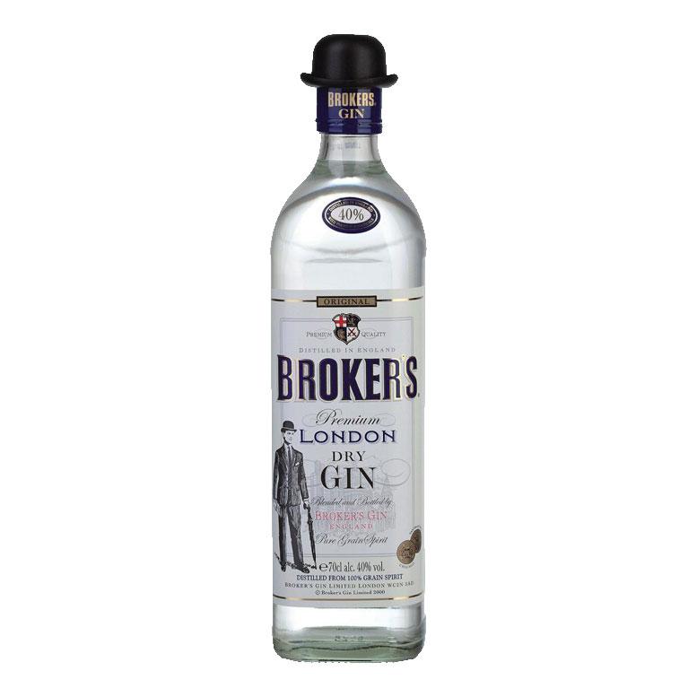 Gin Brooker's Premium London 40% 0,7l