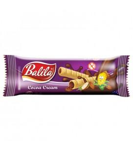 Balila Kukuričné trubičky plnené kakaovým krémom 18 g
