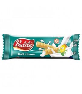 Balila Kukuričné trubičky plnené mliečnym krémom 18 g