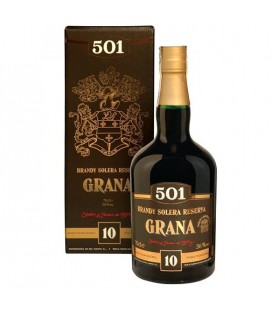 Brandy 501 GRANA 10y krabica 36% 0,7 l