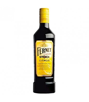 Fernet Stock citrus 27% 0,5 l
